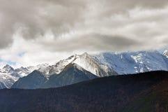 Meili-Schnee-Berg-Mingyong-Gletscher Lizenzfreie Stockbilder