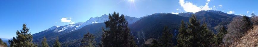 The meili snow mountain Royalty Free Stock Image