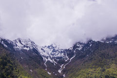 Meili snow Mountain also know as Kawa Karpo located in Yunnan Pr. Ovince, China Royalty Free Stock Photos