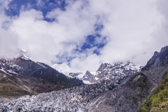 Meili snow Mountain also know as Kawa Karpo located in Yunnan Pr. Ovince, China Stock Photography