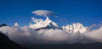 Meili snow mountain in China. Stock Photos