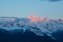 Meili Snow mountain Stock Photo