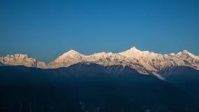 Meili snow mountain stock video footage
