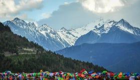 Meili snow mountain in Yunnan, China Royalty Free Stock Photo