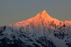 Meili snow mountains Royalty Free Stock Photos