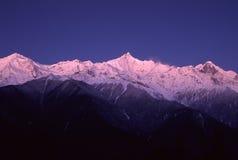 Meili Snow Mountains Royalty Free Stock Images