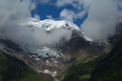 Meili snowberg Stockbild