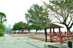 Meili Wang Rest Pavilion Stock Image