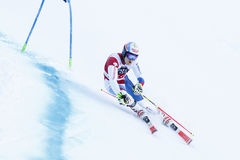 MEILLARD Loic in Audi Fis Alpine Skiing World-Kop Stock Foto