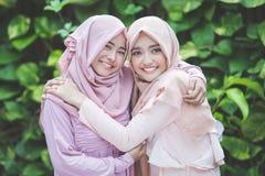 Meilleur ami heureux de fille ensemble Photos stock