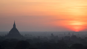 Meilleur Bagan Sunrise Images stock