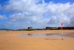 Meilleur britannique de Newquay les Cornouailles de plage de Fistral au R-U photo stock
