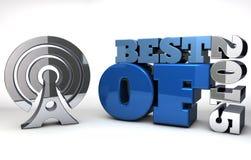 Meilleur de 2015 - examen et estimations de produit Illustration de Vecteur