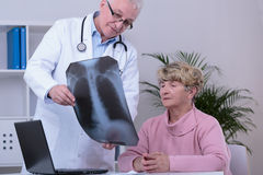 Meilleur diagnostiquez du patient image libre de droits