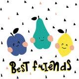 Meilleurs amis Images libres de droits