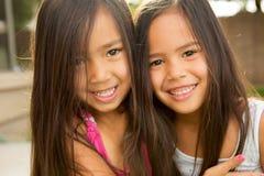 Meilleurs amis et soeurs Photo stock