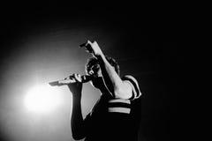 Mein chemisches Romance (Band), führt bei Sant Jordi Club durch Lizenzfreie Stockfotografie