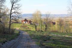 Mein Dorf Stockbild