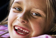 Mein erster großer Zahn lizenzfreie stockbilder