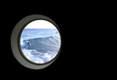 Mein Fenster Lizenzfreies Stockfoto