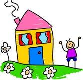 Mein Haus Stockbild