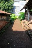 Mein Hinterhof in einem Dorf so gut lizenzfreie stockfotografie