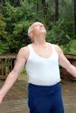 Mein 83-Jähriger-Schwiegervater Stockfotografie