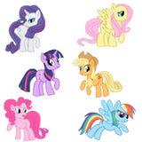 Mein kleines Pony lizenzfreies stockfoto