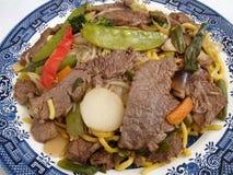 mein lo говядины стоковые фотографии rf