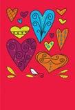 Mein lustiger Valentinsgruß Lizenzfreies Stockbild