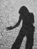 Mein Schatten Lizenzfreies Stockbild