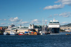 Mein Schiff 2 in Oslo Fjord harbour Royalty Free Stock Photography