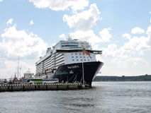 Mein Schiff 4   Cruise ships Royalty Free Stock Images