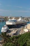 'Mein Schiff 1' cruise ships in Valletta Stock Photos