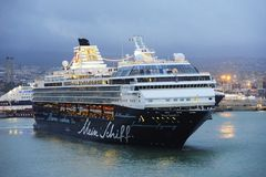 Mein Schiff 1 in port Royalty Free Stock Photo