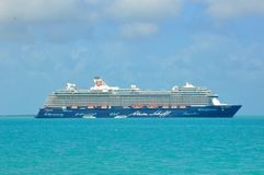 Mein Schiff 4, TUI Cruises imagem de stock royalty free