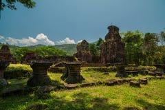Mein Sohn-Tempel - Vietnam stockfotografie