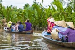 MEIN THO, VIETNAM - 24. NOVEMBER 2018: Der Mekong-Deltadschungel c stockfoto