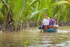 MEIN THO, VIETNAM - 24. NOVEMBER 2018: Der Mekong-Deltadschungel c stockfotos