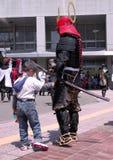 Mein Vater ist Samurai?:) Stockbilder