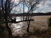 Meine Ansicht des Flusses meine südliche geheime Familienlieblingszeit ist die beste Zeit lizenzfreie stockbilder