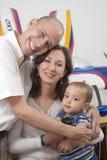Meine Familie und meine Liebhaberei Stockbilder