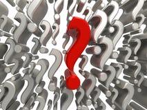 Meine Fragen Lizenzfreies Stockfoto
