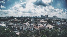 Meine Heimatstadt Stockfotografie