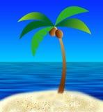 Meine Insel lizenzfreie abbildung