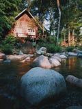 Meine kleine Hütte Stockfoto