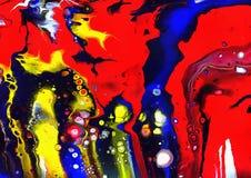Meine Lavalampe brach, psychedelischer Retro- Hintergrund A Lizenzfreie Stockbilder