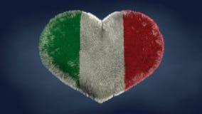 Meine Markierungsfahne Ich liebe die Flagge von Italien lizenzfreie abbildung