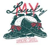 Meine reizenden Tanzenschuhe Stockfoto