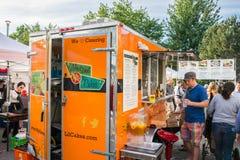 Meine süße Lil Cakes Mobile Food Truck stockfoto